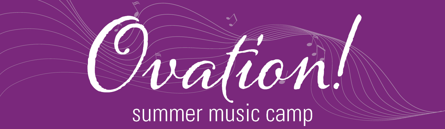 Ovation Music Camp Logo