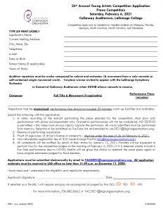 2021 YAC Application